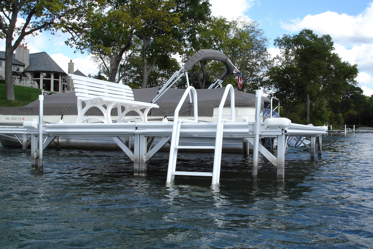 Instant Marine Docks : Boat dock accessories michigan instant marine
