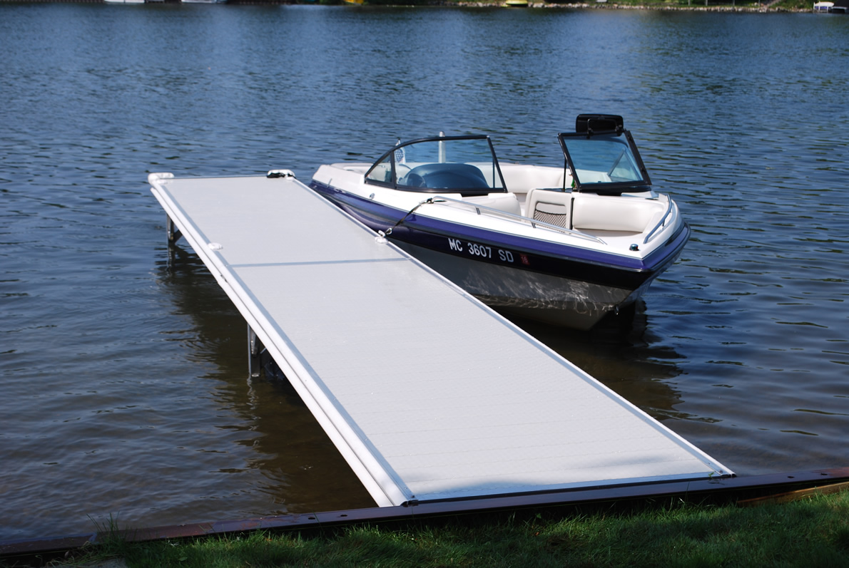 Instant Marine Docks : Series rolling boat docks michigan