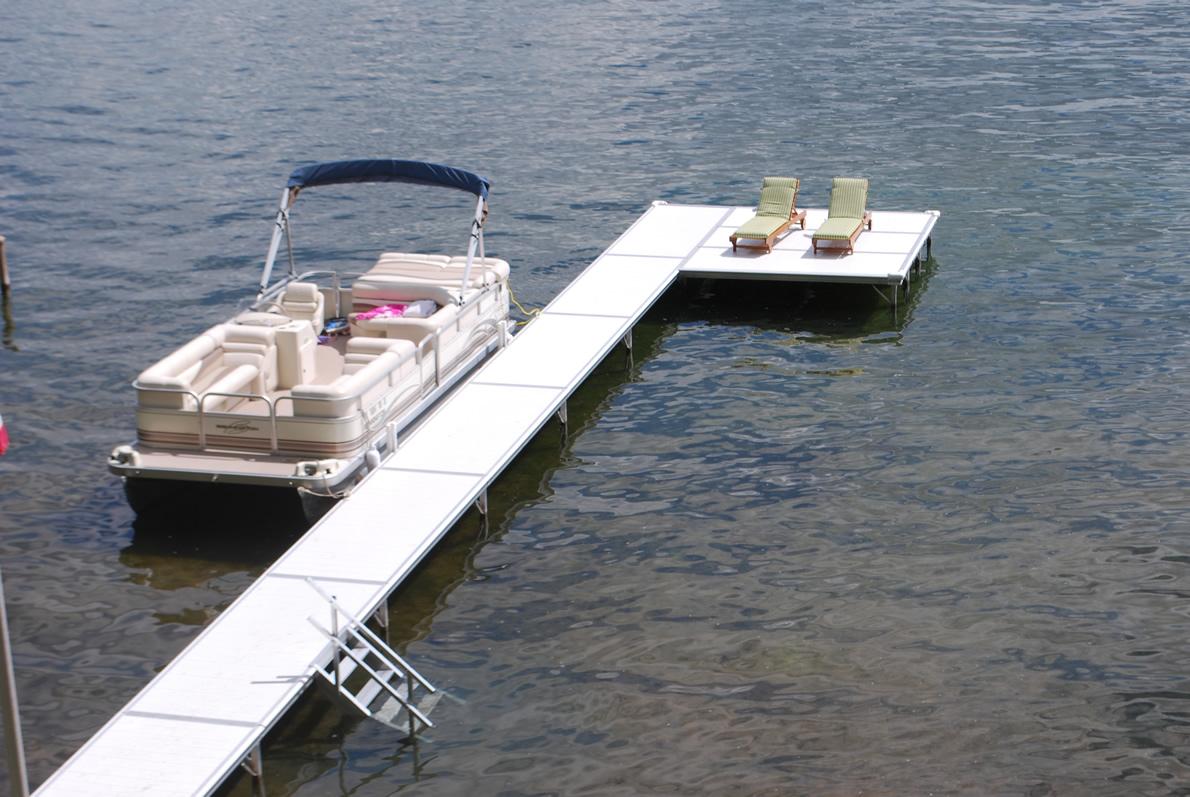 Instant Marine Docks : Boat docks gallery made in michigan