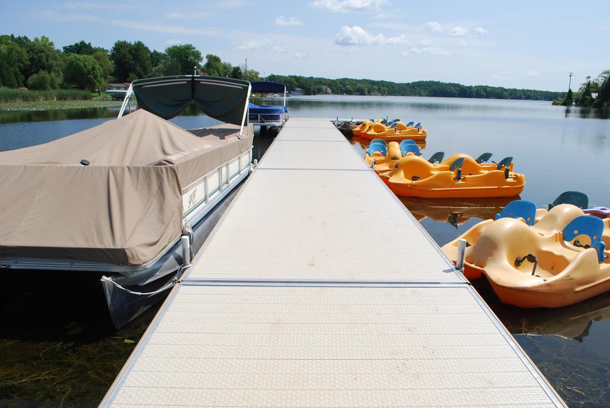 Instant Marine Docks : Illinois boat docks company